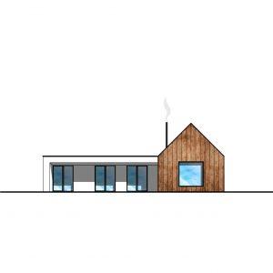 Schéma rodinného domu