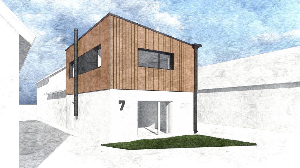 Projekt nadstavby rodinného domu